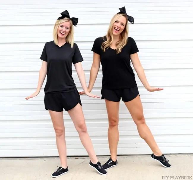 Emoji Halloween Costume Bridget & Casey