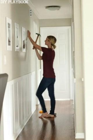 Bridget Frames Hallway Board and Batten