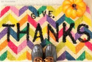 Give Thanks Doormat