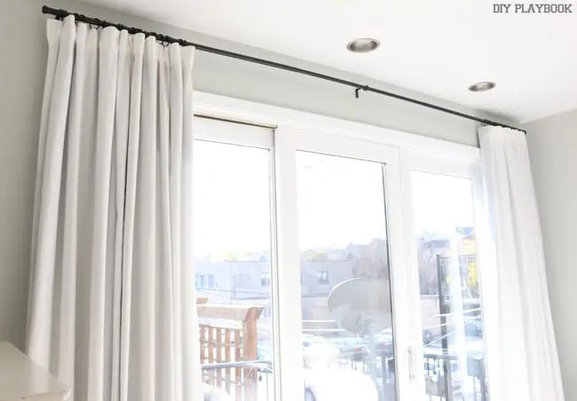How To Make No Sew Black Out Curtains The Diy Playbook