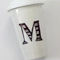 Anthropologie inspired coffee mug