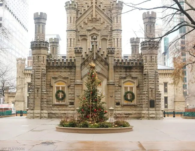 Chicago Water Tower Christmas