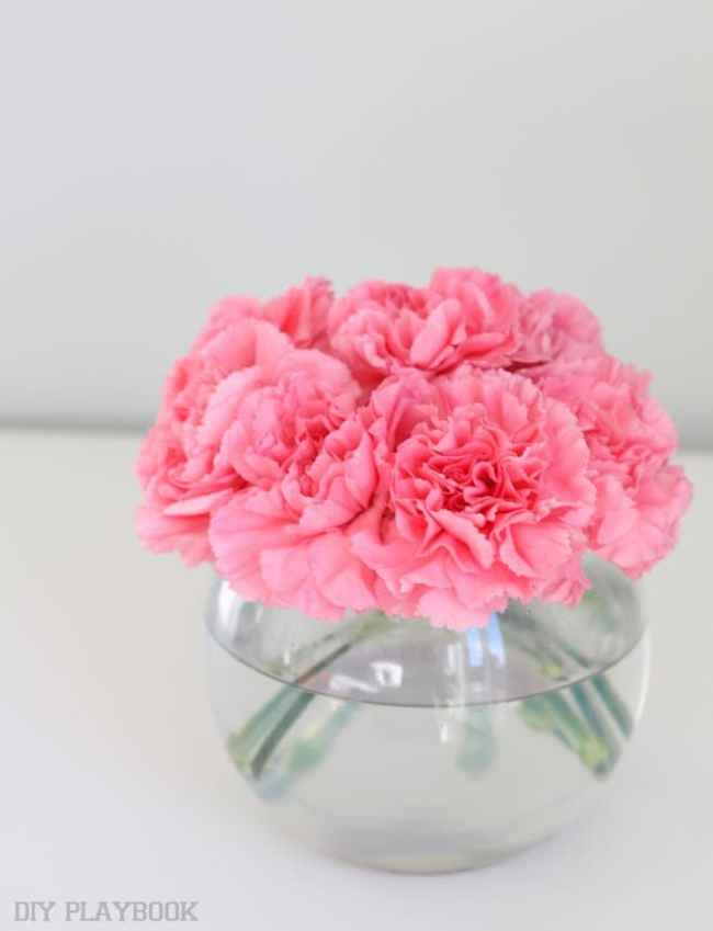 3-carnations-bowl-vase-flowers-tutorial