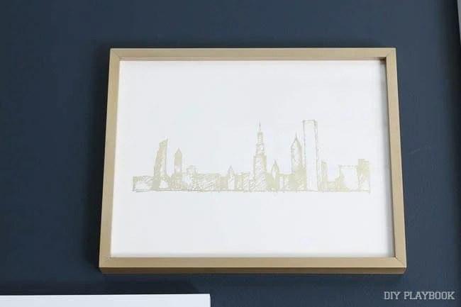 gold-chicago-skyline-art