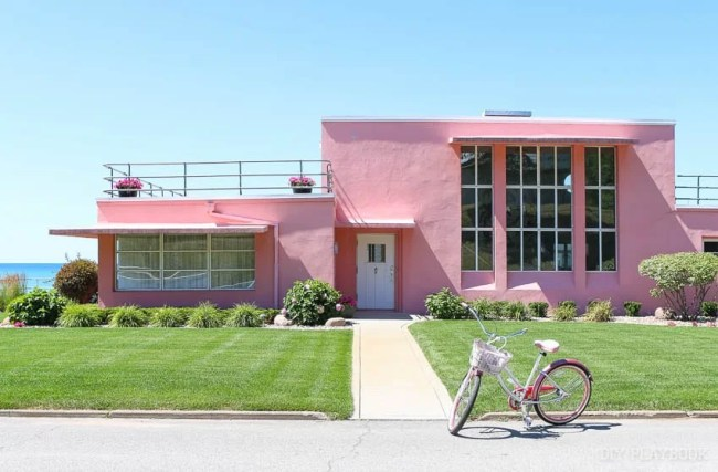 beverly-shores-pink-house