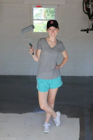 diy-garage-epoxy-rustoleum-bridget-roller