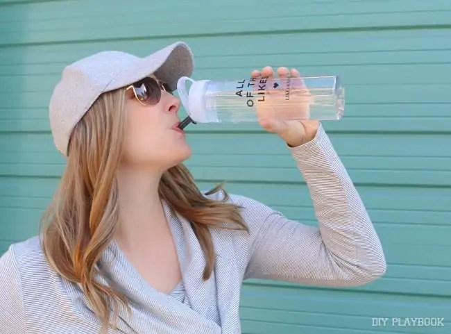 casey-drinking-water