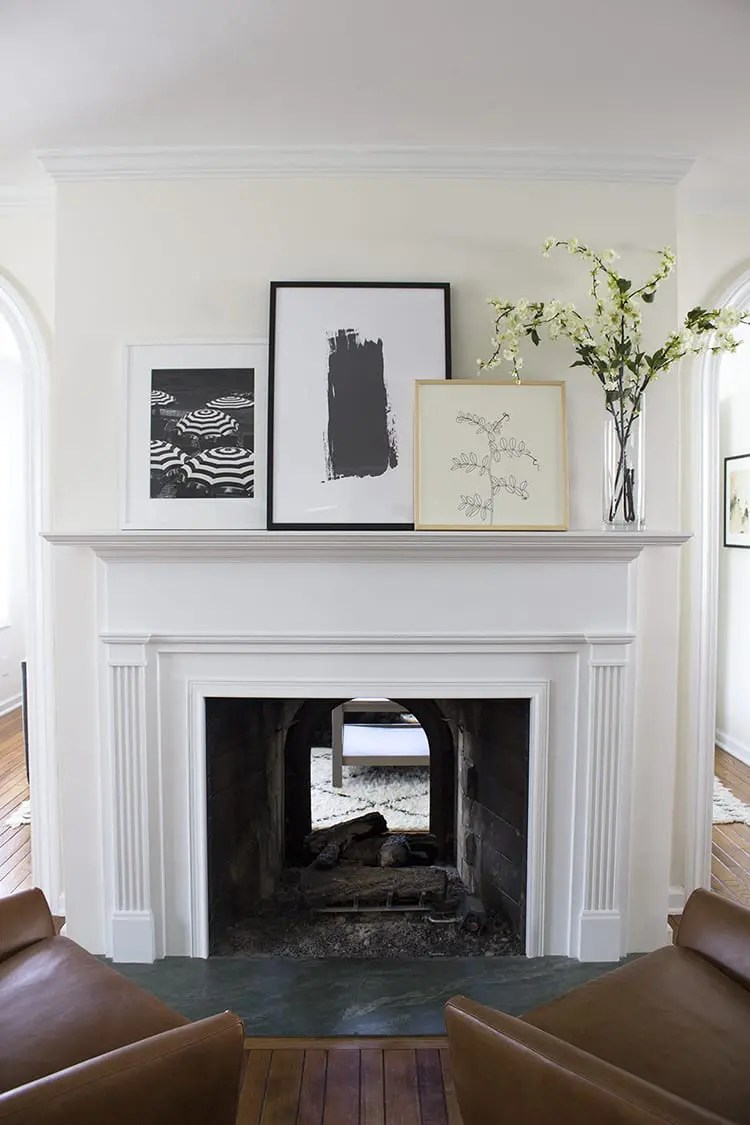 How To Decorate Fireplace Rookie Mistake Decorating A Fireplace Mantel The Diy Playbook