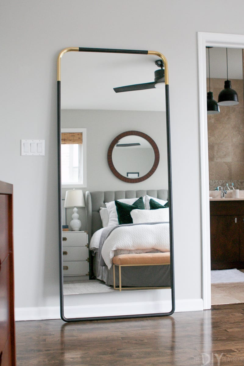Ikea Wardrobe Leaning To One Side How To Secure A Leaning Mirror To The Wall The Diy Playbook