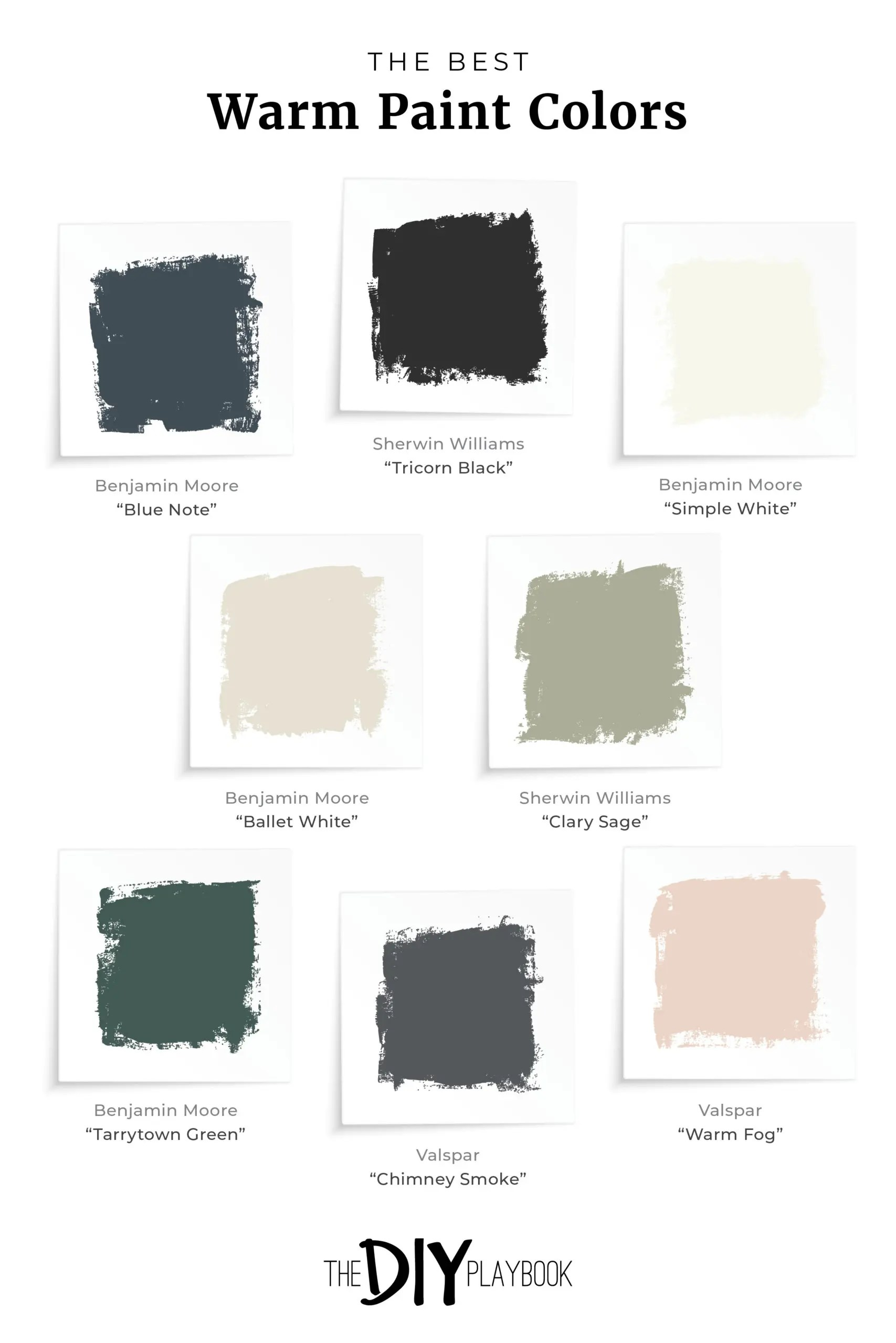 Choosing A Warm Paint Color Palette The Diy Playbook
