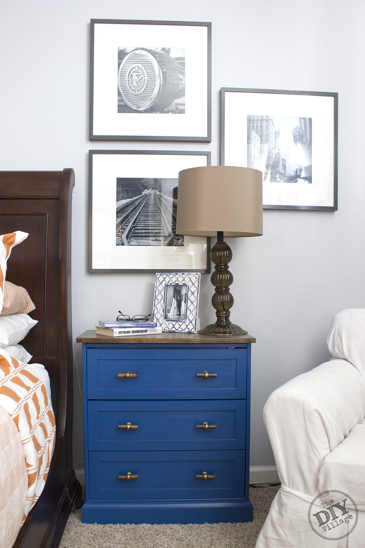 Ikea Rast From Dresser To Nightstand Ikea Rast Makeover The Diy Village