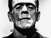 Boris Karloff as Frankenstein