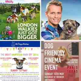 London Dog Events 14-15 May