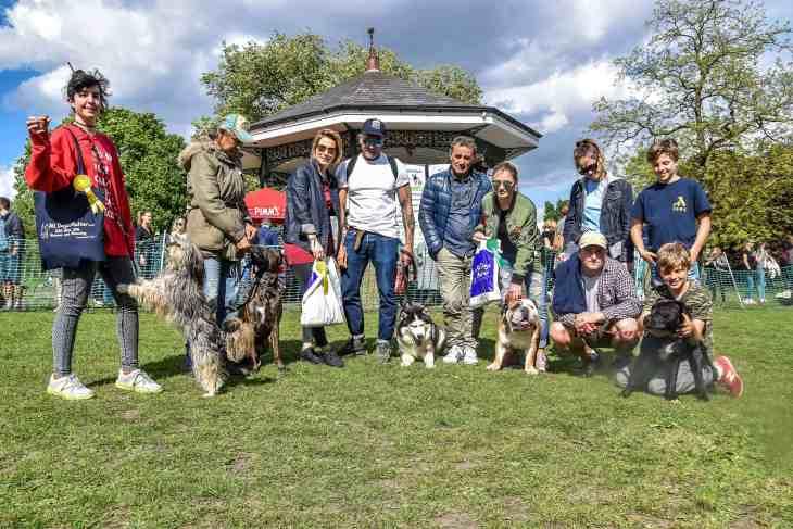 The Great Hampstead Bark Off 2017 Mr Heath Winners