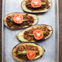 Karniyarik (Turkish Stuffed Eggplant)