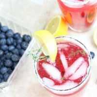 Summer-Thyme Blueberry Lemonade