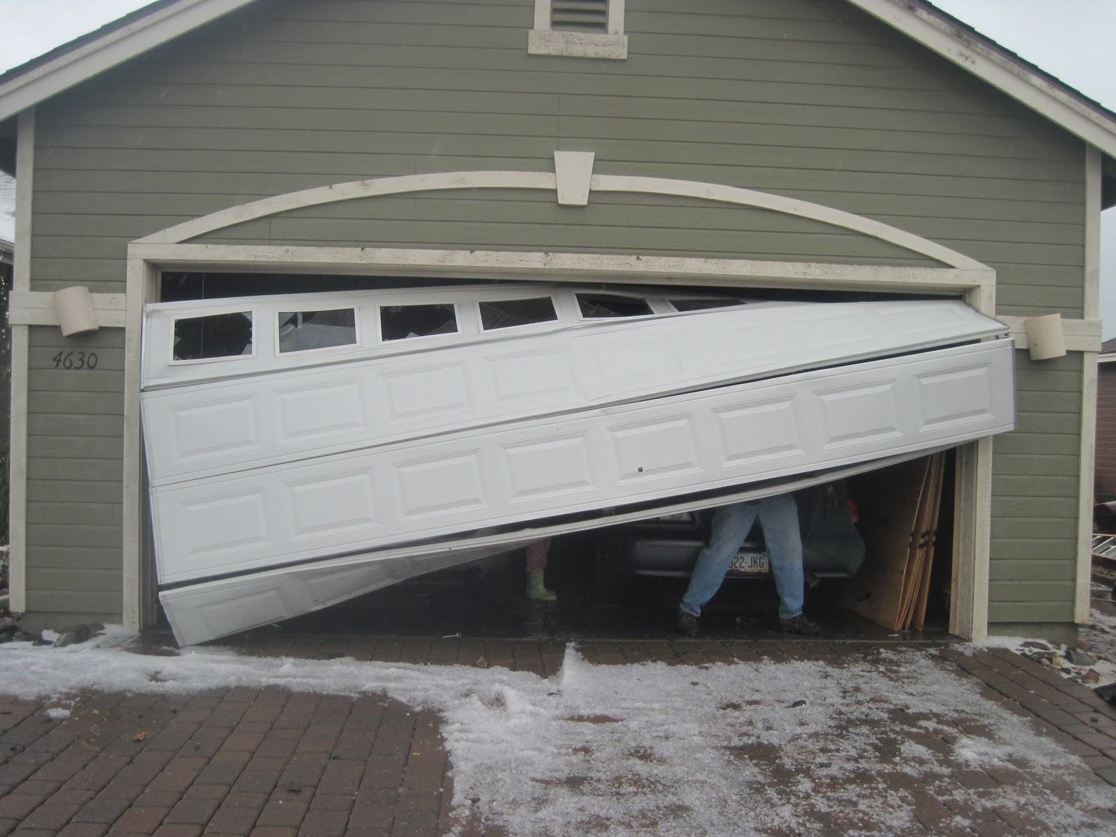 Replace Doors Garage Door Replacement Vs Repair Replace A Garage Door Vs