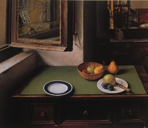 Still Life While Listening to Brahms, Richard Maury