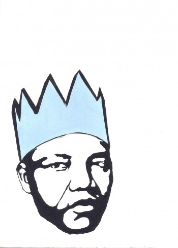 Ray Murison, Blue King. Image courtesy of Unsung Art