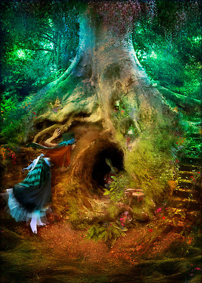 Falling Down The Rabbit Hole Wallpaper News And Research The Dream Well