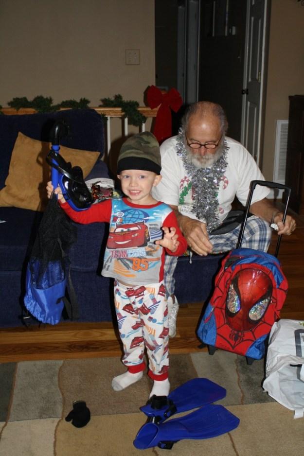 Wilson and grandpa
