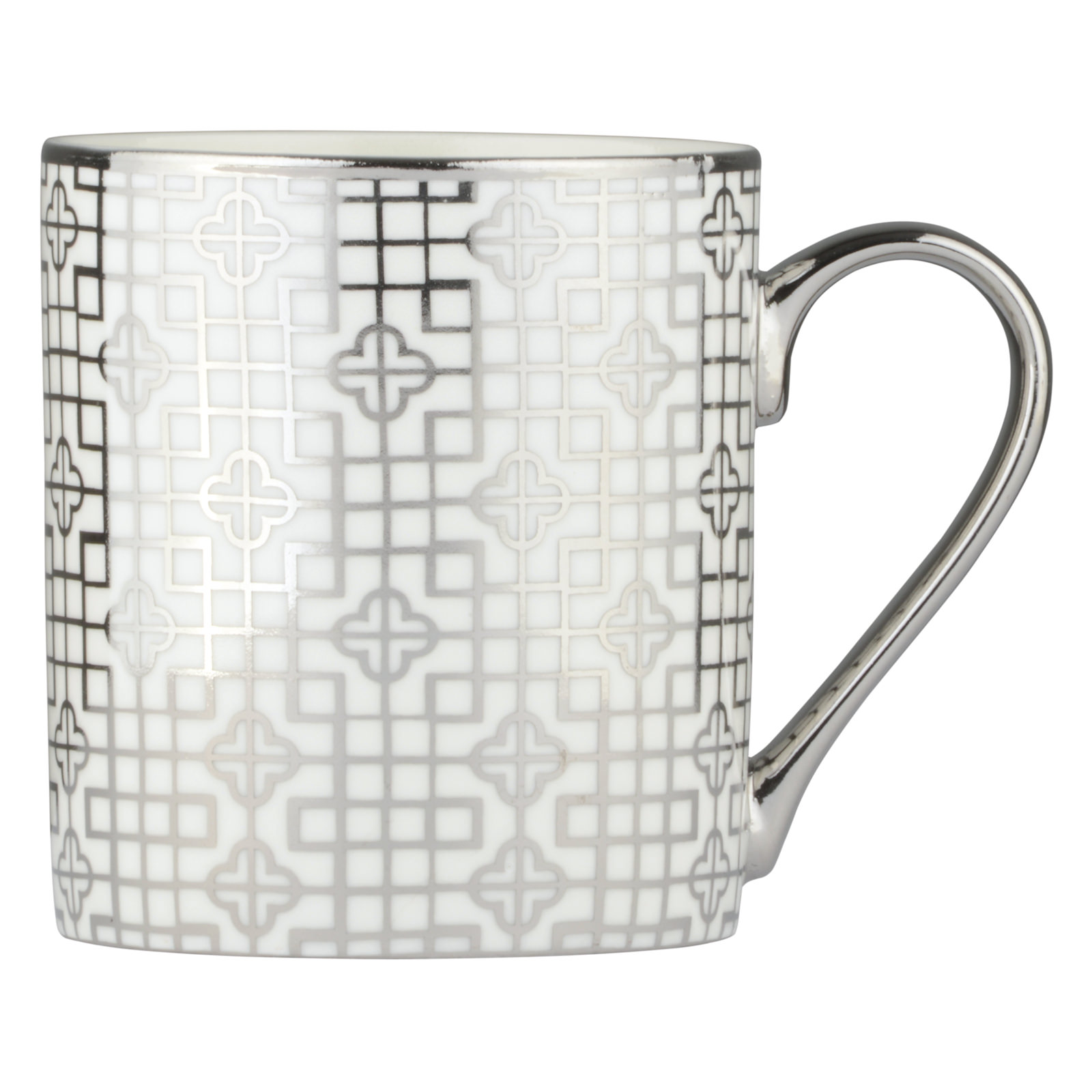 Deco Mug Art Deco Mug Platinum The Drh Collection