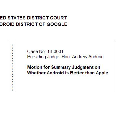 How to Create a Simple Pleading with Google Drive \u2013 The Droid Lawyer
