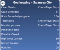 Goalkeeping 12/13