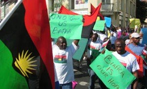 Pro-Biafra march