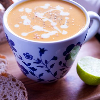 The combination of the sweet, sour and spicy make your taste buds explode, a really quick and easy soup to make any time of the year!