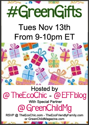 #GreenGifts Twitter Party