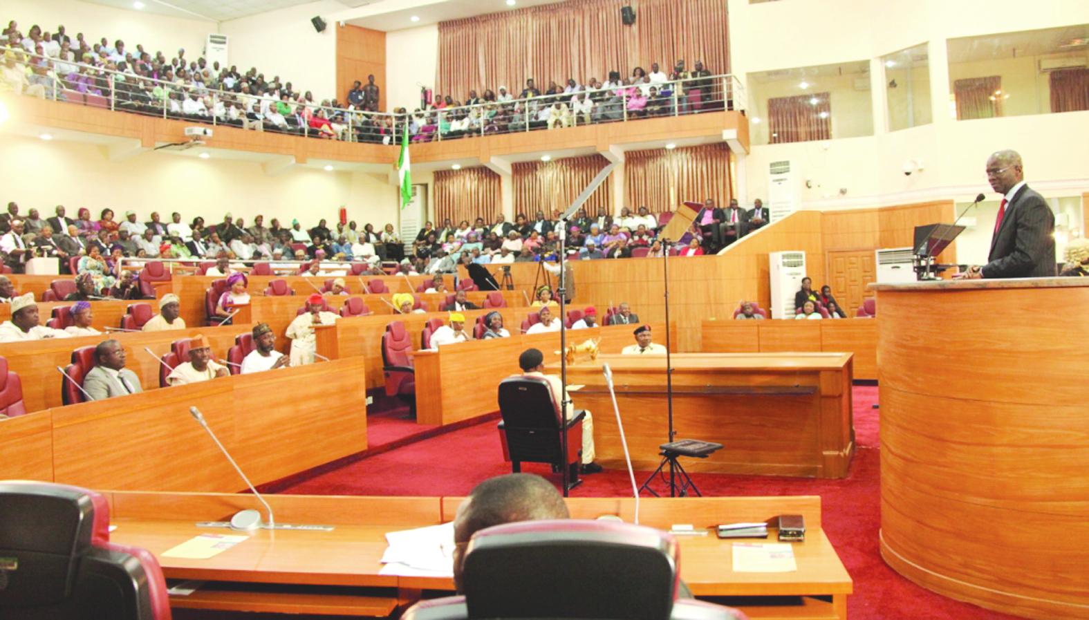 Fashola Presenting Budget 2015