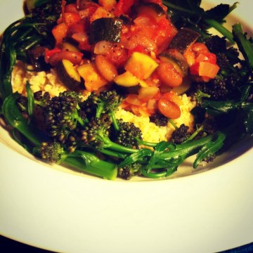 vegetable ragu live below the line recipe