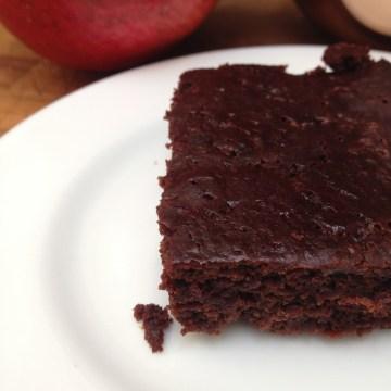 vegan chocolate orange brownies recipe