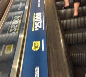 Best Buy's ad space at ISTE2015