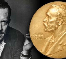 John Steinbeck & his Nobel