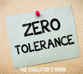 zero tolerance policy in school districts Newark - the american civil liberties union of new jersey filed a lawsuit today challenging the suspension of a student for over-the-counter medication in pinelands regional school district, an egregious application of its zero tolerance policy this case illustrates why zero tolerance policies make.