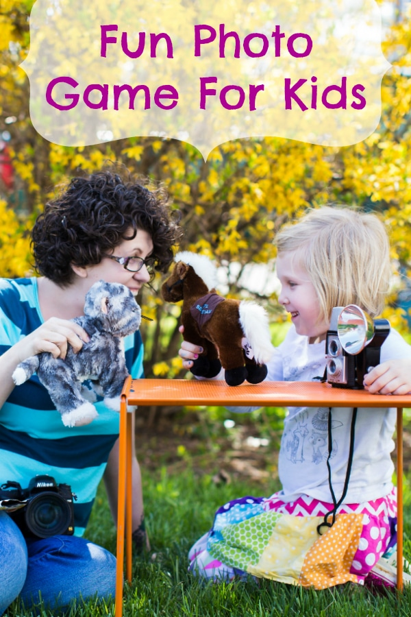 Fun Photo Games for Kids with Storytelling