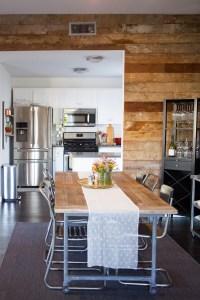 Sneak A Peek // Kate's Industrial Chic Living Room - The ...