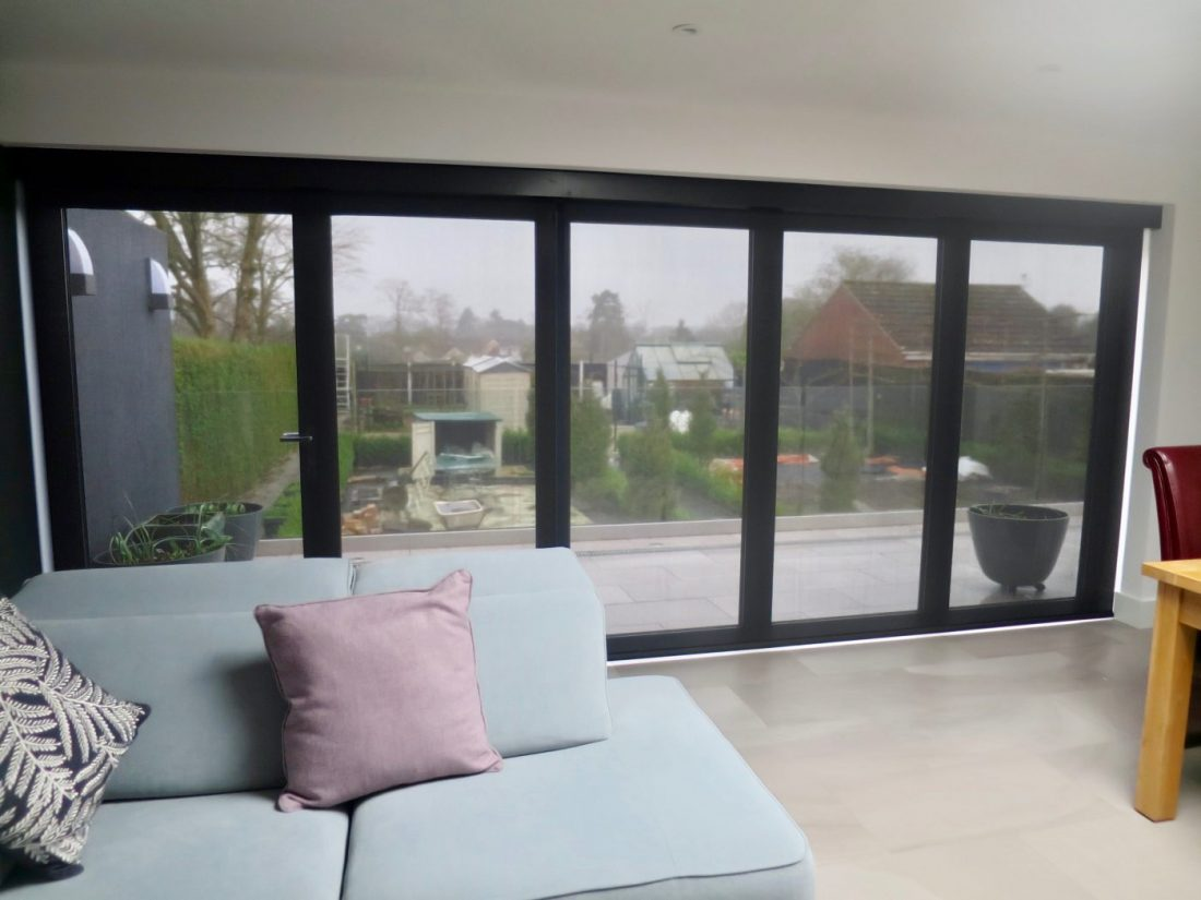 Electric Blinds For Bi Fold Doors The Electric Blind Company