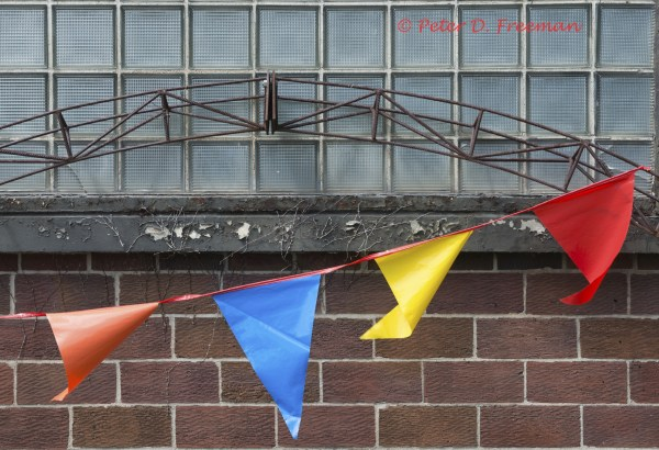 Bricks and Flags