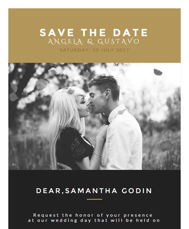 Wedding Invitation Card Email Template Buy Premium Wedding