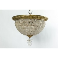 Beaded Basket light Fixture