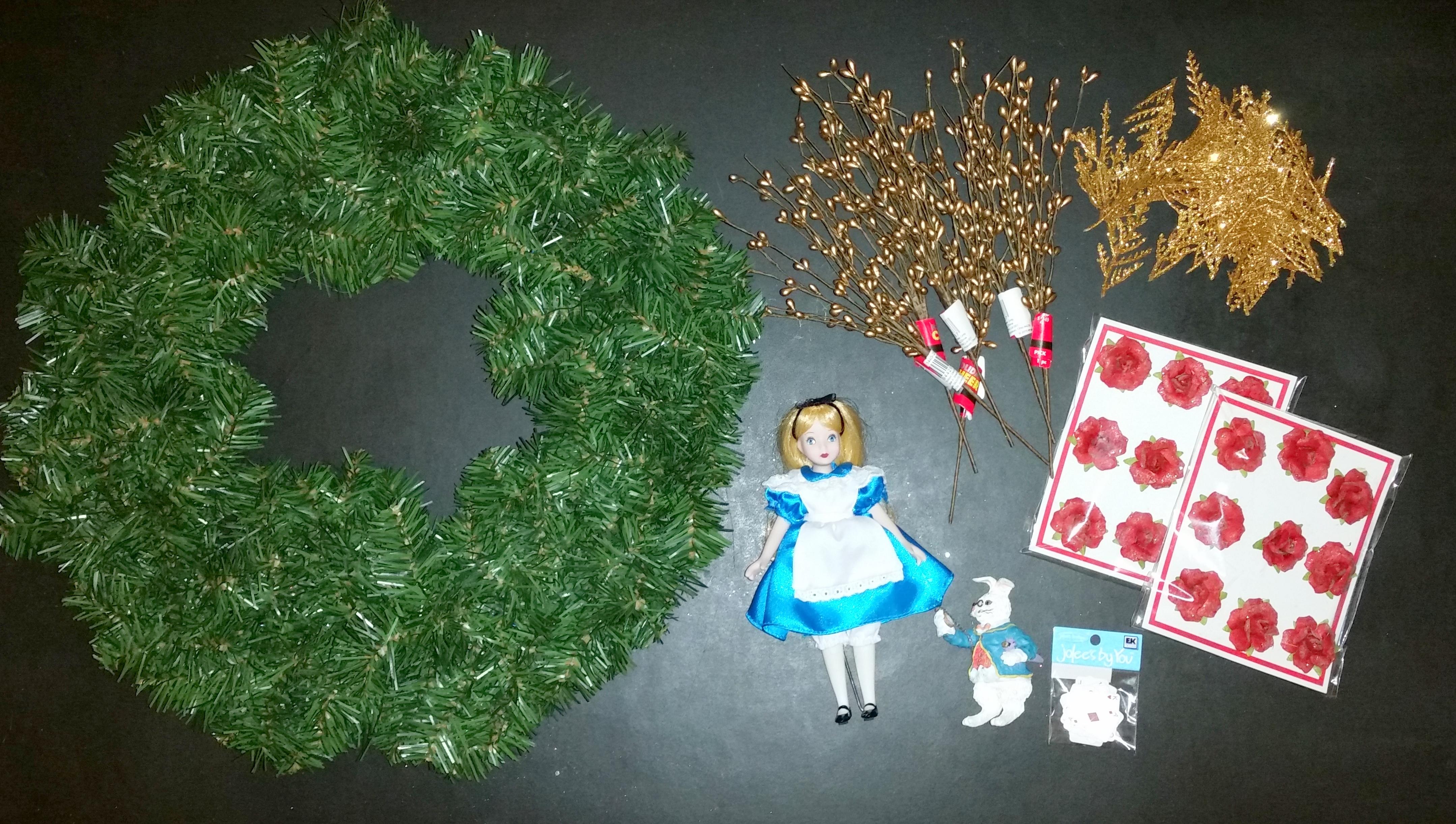 alice in wonderland ornament