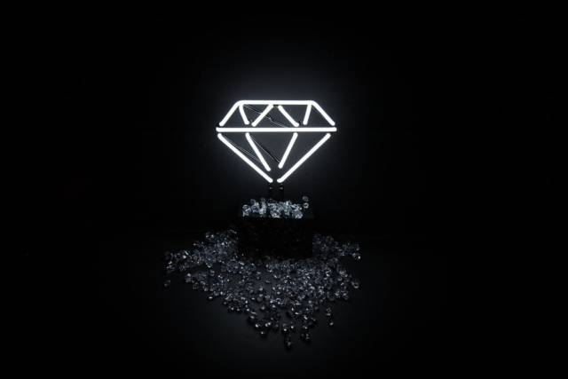 3d Diamond Live Wallpaper 10 Cool Neon Art Lights That Will Transform Your Wall Into