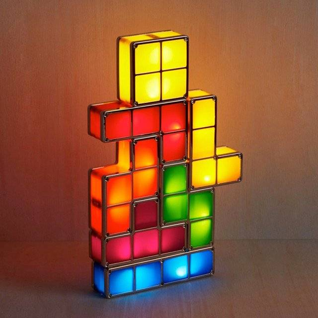 Tetris Lamp 10 Cool Neon Art Lights That Will Transform Your Wall Into