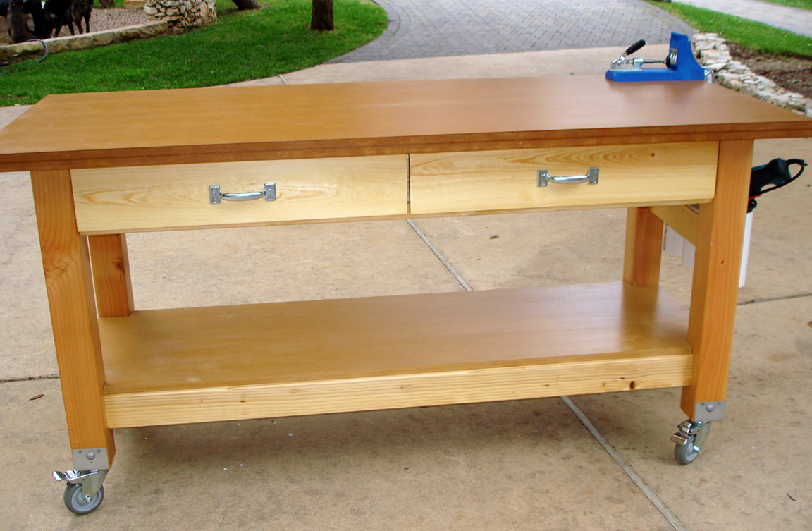 Workbench Plans 4x4 Legs Diy Wood Projects Pinterest