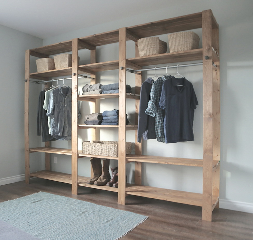 Kleiderschrank Ikea Gestalten Diy Modular Closet Systems | Home Design Ideas
