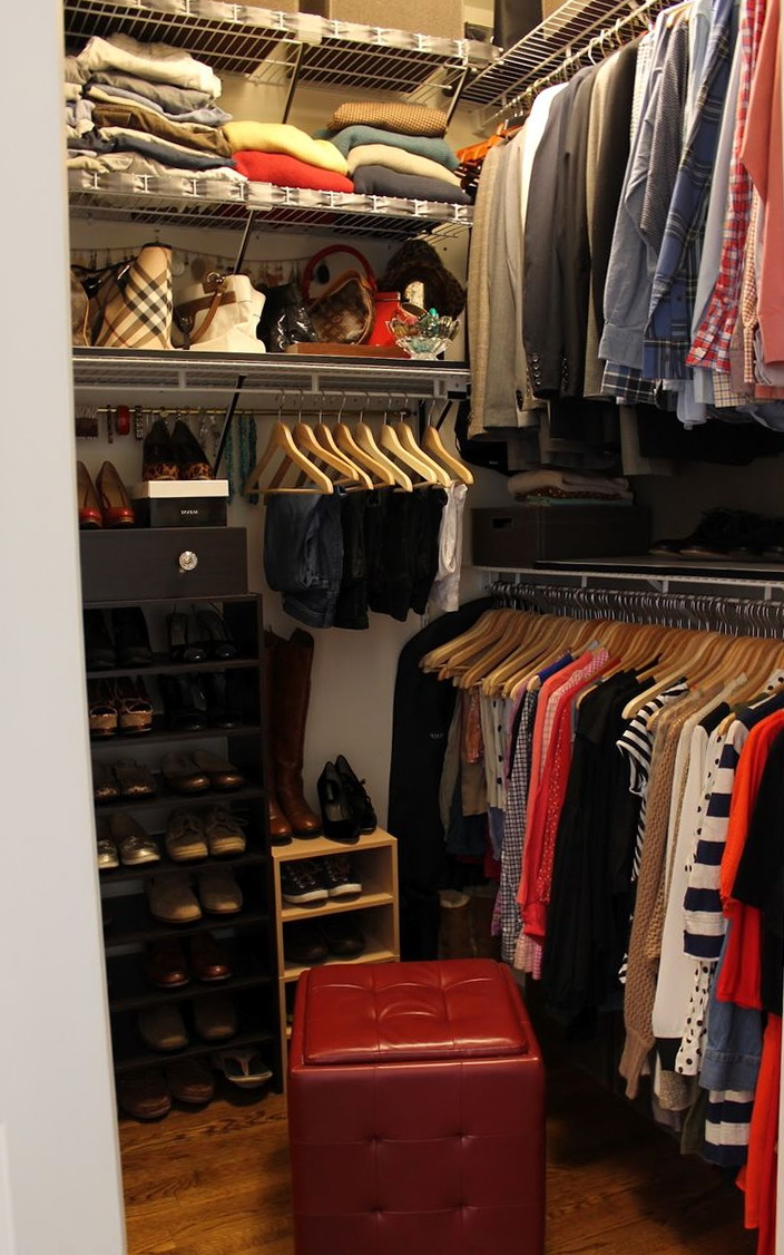 Sliding Closet Doors Small Closet Organization Ideas Pinterest | Home Design Ideas