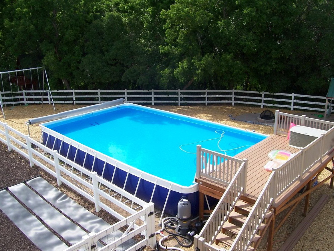 Pool Mit Paletten Verkleiden Above Ground Swimming Pool Decks Plans Free Home Design